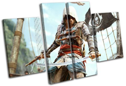 Assasins Creed 4 IV Gaming - 13-1746(00B)-MP17-LO
